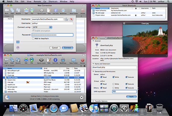 Fetch for Mac 5.7.7 破解版 - 优秀的FTP客户端工具